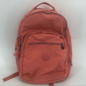 Kipling aideen papaya backpack